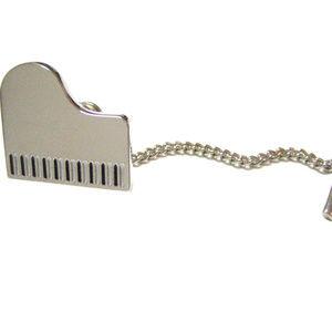 Piano Musical Pendant Tie Tack